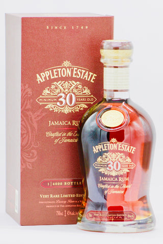 Appleton Estate 30 Year Old Rare Jamaican Rum