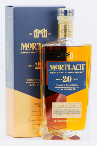 "Mortlach 20 Year ""Cowie's Blue Seal"" Scotch Whisky"