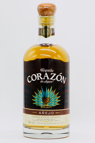 Corazon Anejo Single Estate Tequila Tequila
