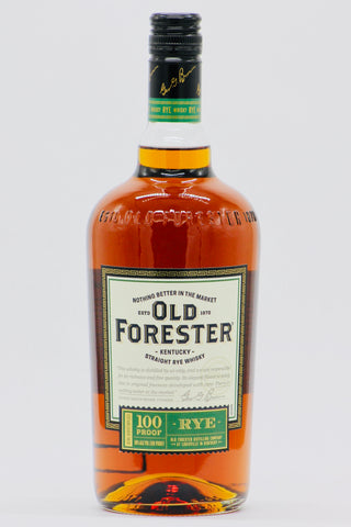 Old Forester 100 Proof Rye Whiskey 1000 ml