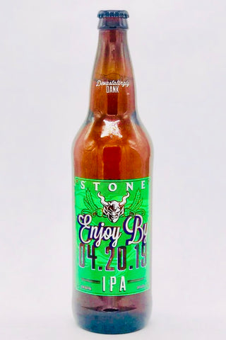 Stone Enjoy By 04.20.2019 IPA 22 oz