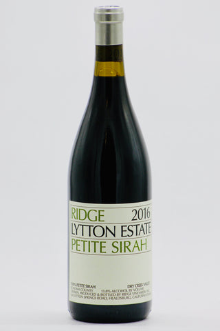 Ridge 2016 Petite Sirah Lytton Springs