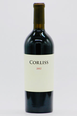 Corliss 2012 Estate Red Wine Columbia Valley