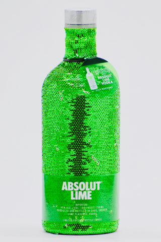 "Absolut ""Green Sequin"" Lime Vodka 750 ml"