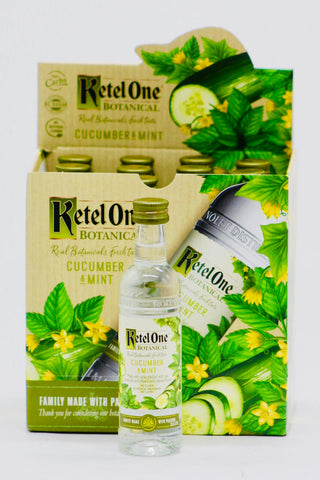 Ketel One Botanical Cucumber & Mint Vodka 12 x 50 ml