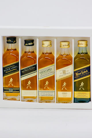 "Johnnie Walker Scotch Whisky ""Discovery"" Set 5 x 50 ml"