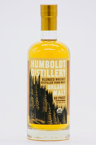 Humboldt Distillery Organic Malt Whiskey