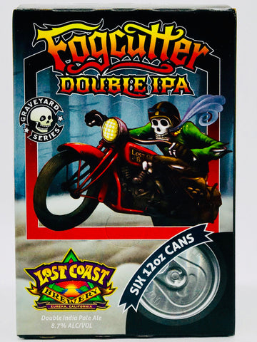 "Lost Coast ""Fogcutter"" Double IPA Six Pack"