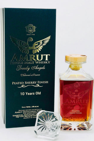 "Amrut ""Greedy Angels"" Peated Sherry Cask Single Malt Whisky"