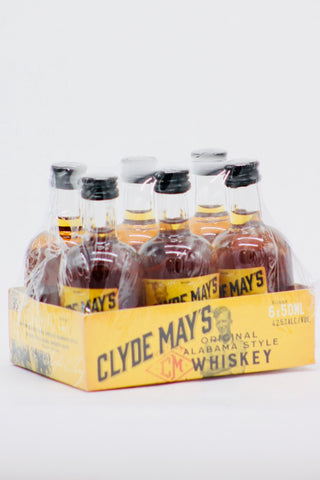 Clyde May's Whiskey 6 x 50 ml