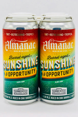 Almanac Sunshine & Opportunity Ale Four Pack 12 oz cans
