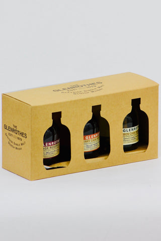 Glenrothes 3 x 100ml Single Malt Scotch Whisky Sampler Pack