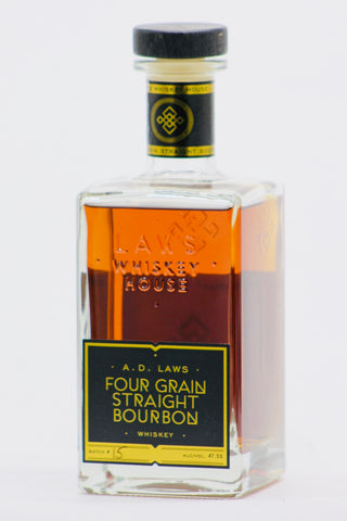 A.D. Laws Four Grain Bourbon Whiskey