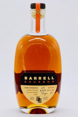 Barrell Batch #019 9.5 Year Bourbon 109.4 Proof