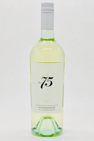 "The Seventy Five Wine Company ""Est.75"" 2018 Sauvignon Blanc by Tuck Beckstoffer"