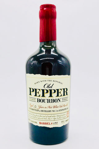 Old Pepper 10 Year Old Bourbon Whiskey