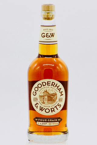 Gooderham & Worts Four Grain Canadian Whiskey