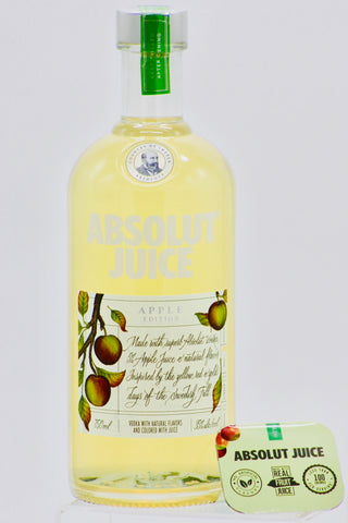 "Absolut Juice ""Apple"" Edition Flavored Vodka 1000 ml"