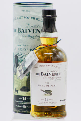 "The Balvenie ""Week of Peat"" 14 Year Old Single Malt Scotch Whisky (2019 Release)"