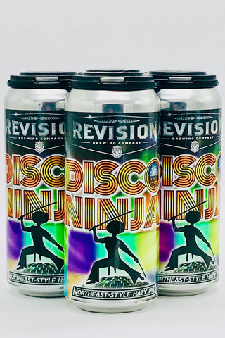 Revision / Shoe Tree Disco Ninja Hazy IPA 16 Oz Four Pack Cans