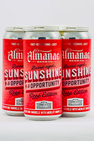 Almanac Rose Sunshine & Opportunity Four Pack Cans
