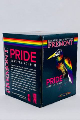 "Fremont Brewing ""Pride"" Kolsch Four Pack Cans"