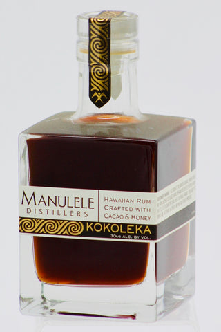 Manulele Distillers Kokoleka Cacao & Honey Hawaiian Rum 375 ml