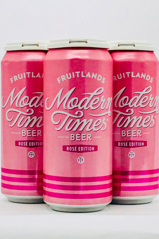 Modern Times Fruitlands Rosé 16 oz Four Pack Cans