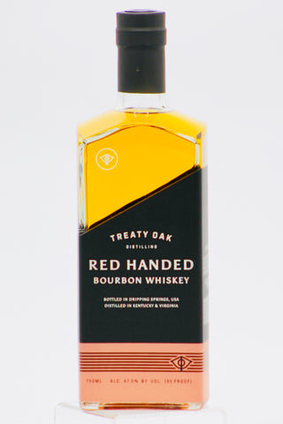 Treaty Oak Red Handed Bourbon Whiskey