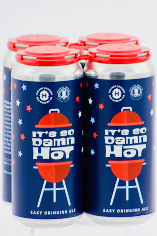 "Hop Concept Hop Freshener ""It's So Damn Hot"" Ale 16 oz Four Pack Cans"