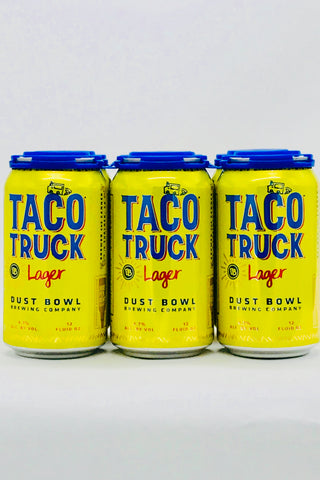 Dust Bowl Taco Truck Lager Six Pack 12 oz Cans