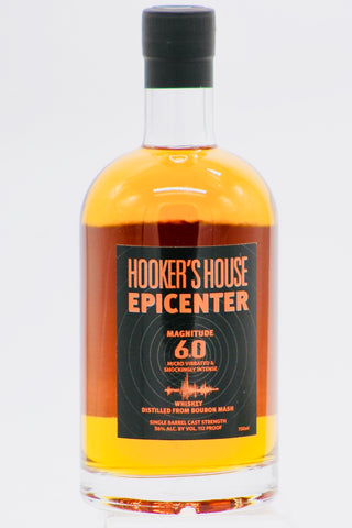 Hooker's House Epicenter 6.0 Whiskey 112 Proof