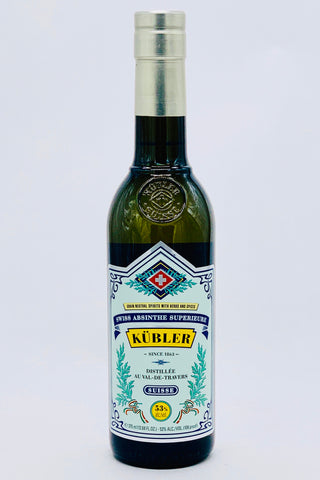 Kubler Absinthe 106 proof 375 ml