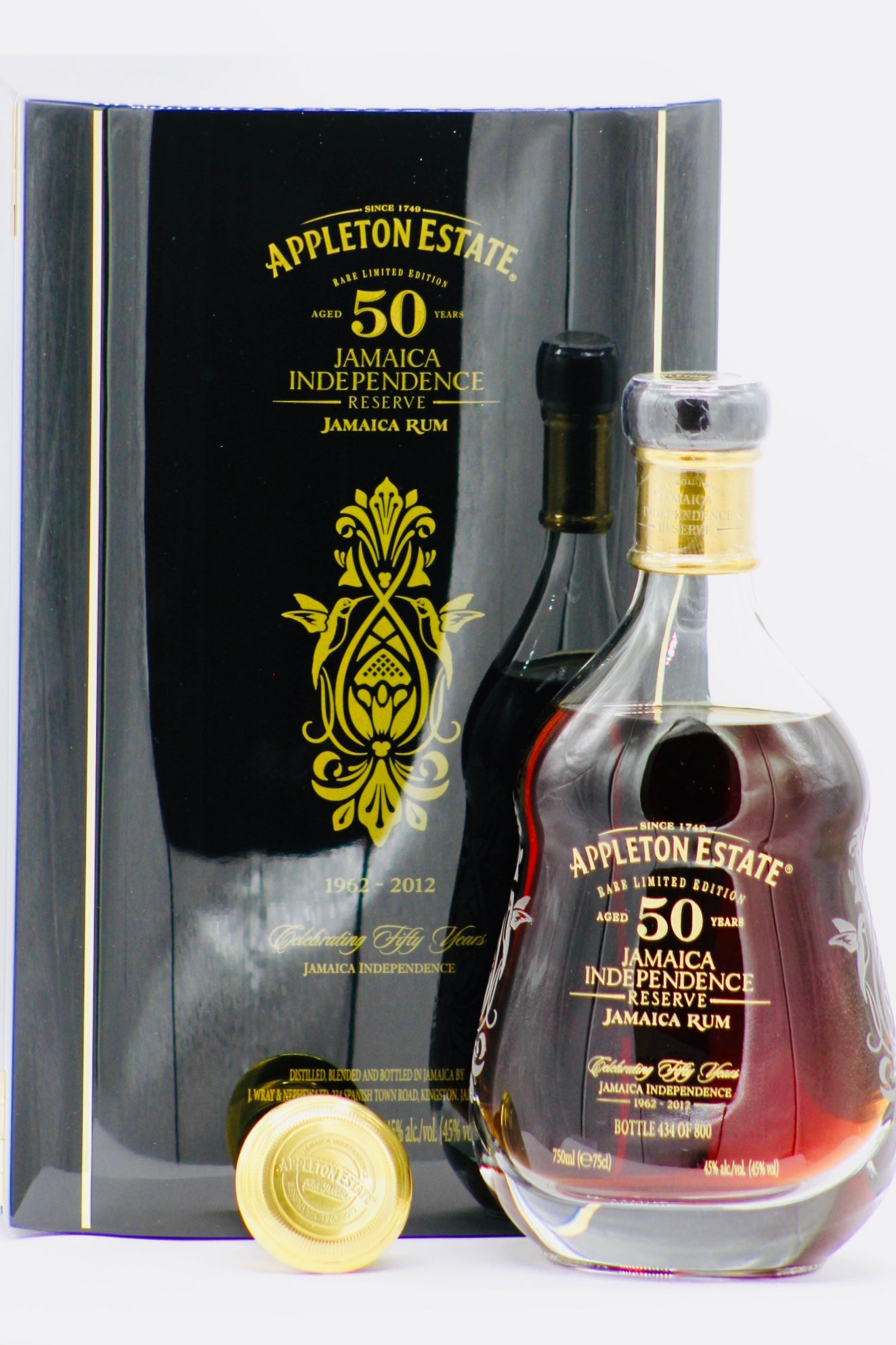 Appleton Estate 50 Year Old Rare Limited Edition Jamaican Rum