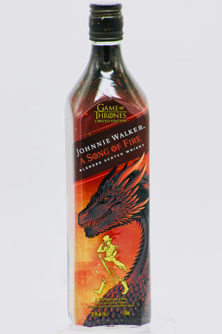"Game of Thrones Johnnie Walker ""Song of Fire"" Scotch Whisky"