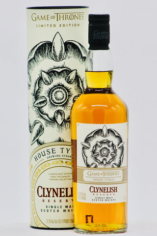 "Game of Thrones Clynelish ""House Tyrell"" Single Malt Scotch Whisky"