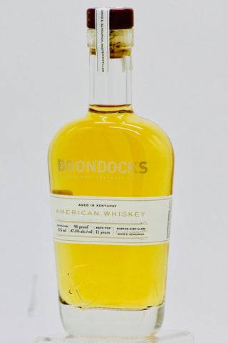 Boondocks 11 Year Old American Whiskey 375 ml