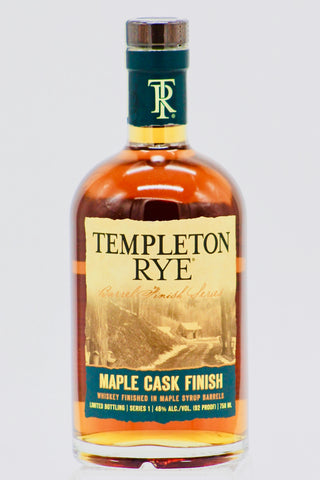 "Templeton ""Maple Cask Finish"" Rye Whiskey"