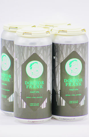 "Laughing Monk ""Dr. Frank"" Hazy IPA 16 oz Can Four Pack"