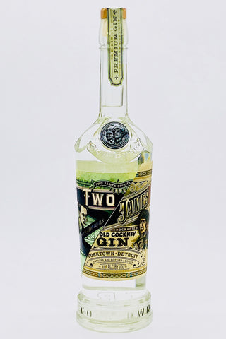 "Two James ""Old Cockney"" Gin"