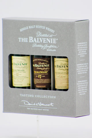 "The Balvenie ""Tasting Collection"" Scotch Whisky 3 x 50 ml"