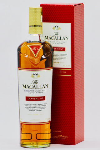 "Macallan ""Classic Cut"" 2018 Edition Scotch Whisky"