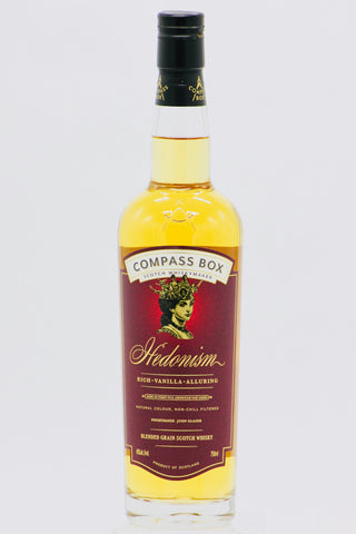 "Compass Box ""Hedonism"" Blended Grain Scotch Whisky"