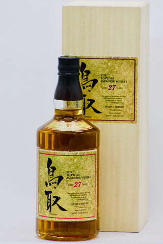 The Tottori 27 Year Old Japanese Whisky