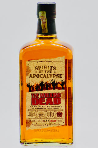 """Spirits of the Apocalypse"" The Walking Dead Kentucky Straight Bourbon Whiskey"