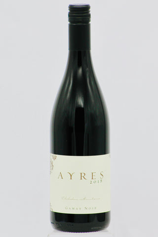 Ayres 2018 Gamay Noir Chehalem Mountains