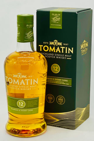 Tomatin 12 Year Old Scotch Whisky