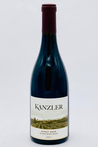 Kanzler 2017 Pinot Noir Russian River Valley