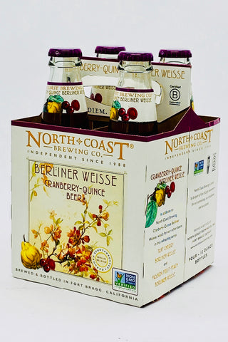 North Coast Cran/Quince Berlinerweisse Four Pack