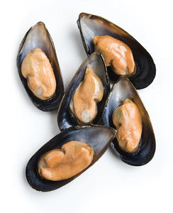 New Zealand Greenlip Half Shell Mussels